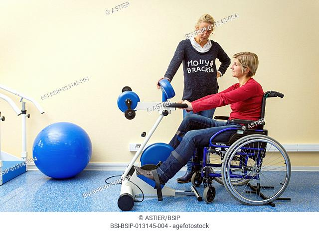 Clinical research in the GHICL. The physical medicine and rehabilitation department in Saint Philibert hospital in Lille, France