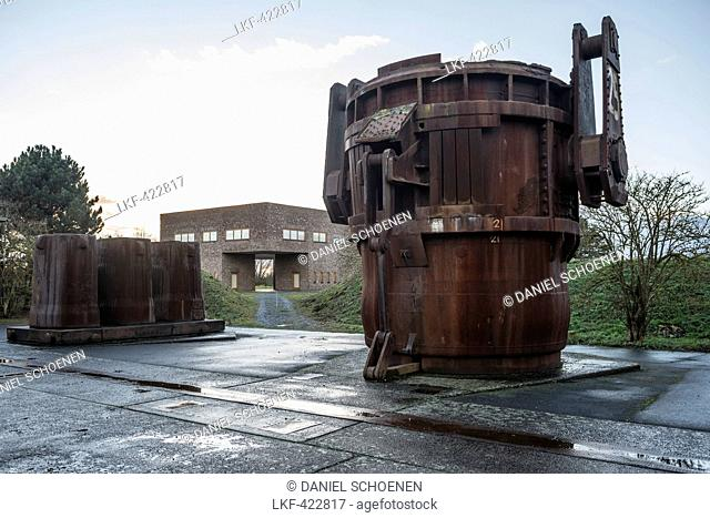 Museum on the grounds of former NATO rocket-base, Langen Foundation, near Neuss, North Rhine-Westphalia, Germany