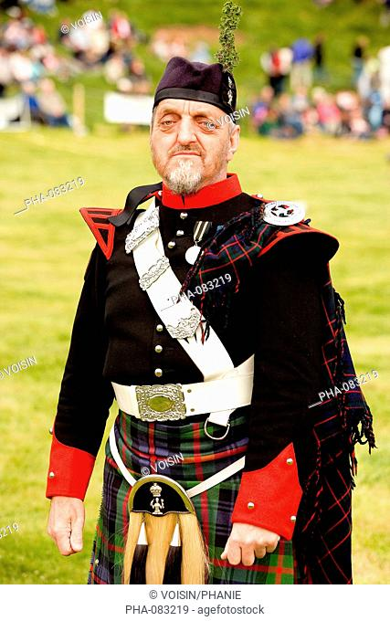 Soldier of the Atholl Highlanders Regiment, at the private employ of the Duke of Atholl, one of the two private armies in Europe