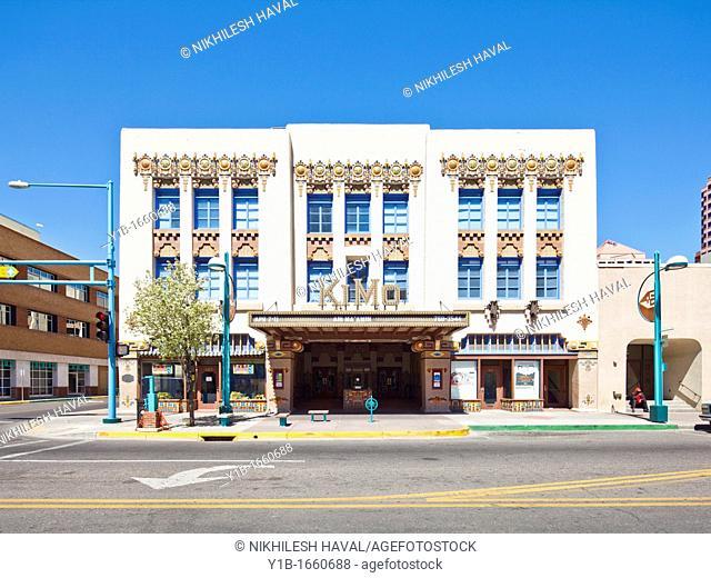 Kimo theatre, downtown Albuquerque