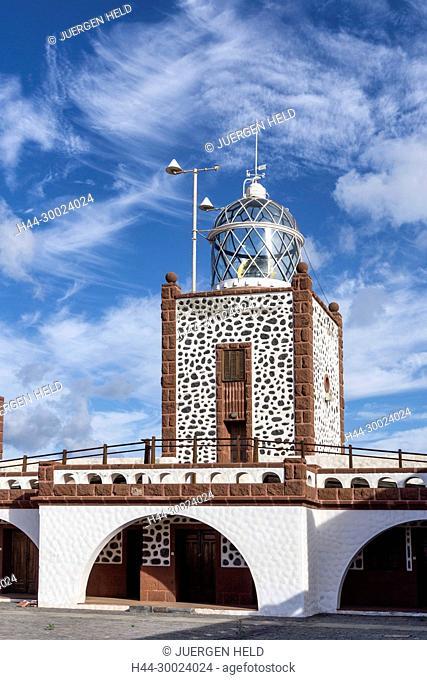 Lighthouse, Faro de la Entallada, Punta de la Entallada, Las Playitas, Fuerteventura