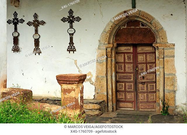 San Xulian church  Portela, Vilamartin de Valdeorras, Ourense, Galicia, Spain