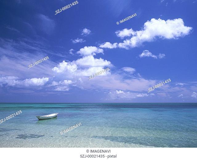 Shallow beach