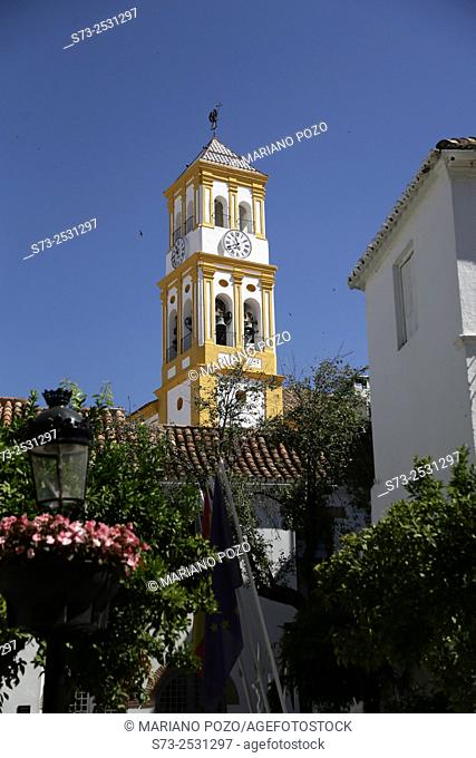 Church Of Nuestra Senora De La Encarnacion In The Downtown Of Marbella, Costa Del Sol, Málaga, Andalusia, Spain