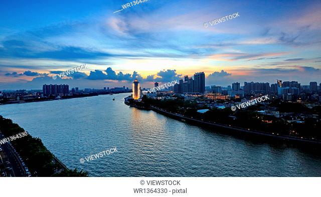 Guangzhou city building scenery