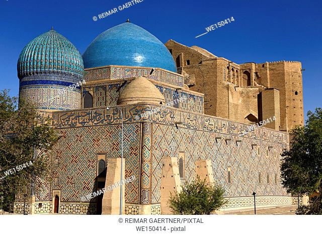Largest dome in Central Asia at Mausoleum of Khoja Ahmed Yasawi in Turkistan Kazakstan