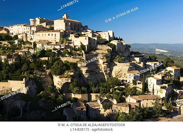 Gordes, Vaucluse, Provence-Alpes-Côte d'Azur, France