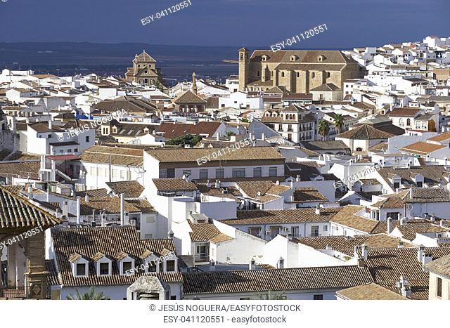 View of Antequera, Malaga. Spain
