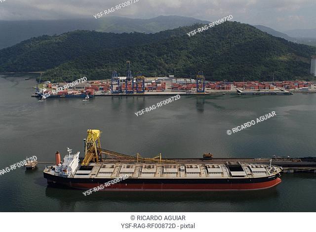 Sepetiba Port, Rio de Janeiro, Brazil