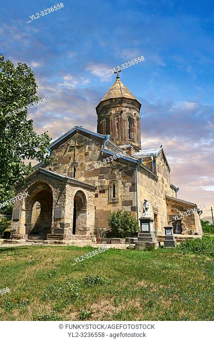 Picture & image of the Cathedral Of Transfiguration, Medieval Georgian Orthodox, 7-9th century, Ruisi, Georgia