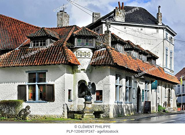 The tavern / restaurant Bivouac de l'Empereur at the site of the Battle of Waterloo near Brussels, Belgium