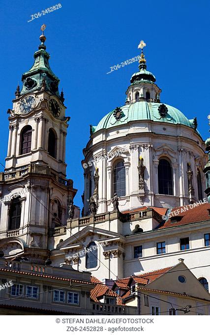 St. Nicolas Church in Prague, Czechia