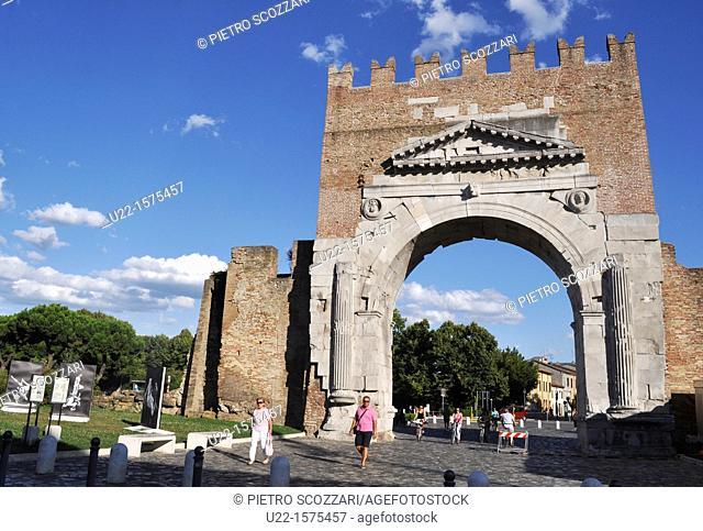 Rimini (Italy): Arco di Augusto