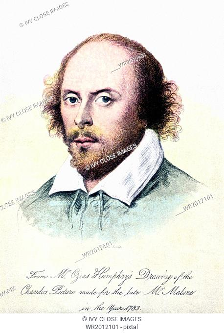 William Shakespeare (died 1616) was an English poet and playwright - and is considered by many to be he best English writer ever