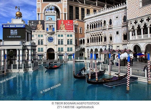 USA, Nevada, Las Vegas, The Venetian, hotel, casino