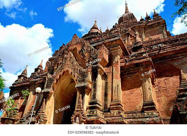 Htilominlo Temple is a Buddhist temple in Bagan (formerly Pagan), at Myanmar