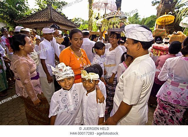 Asia, Indonesia, Bali, Koningan Ceremony Mas