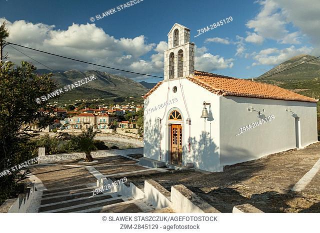 Agios Dimitrios church near Lefktro, Messenia, Peloponnese, Greece