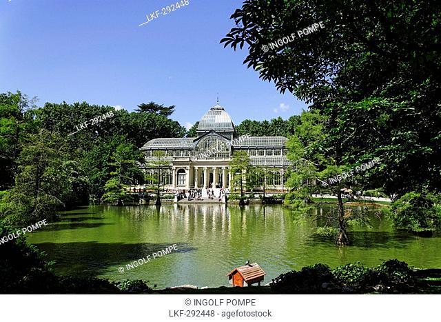 Palacio de Cristal, Parque del Buen Retiro, Madrid, Spain