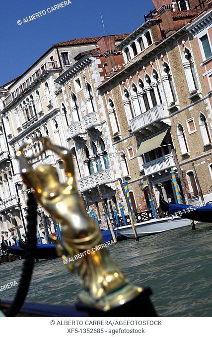 Gondola, Venice, Veneto, Italy, Europe