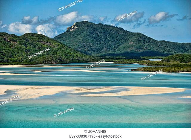 View of the Whitsunday Islands National Park, Queensland