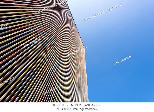 Museum Brandhorst, Munich, facade
