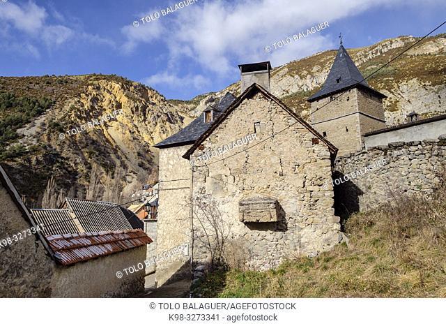 Sin, Sobrarbe, Huesca, Aragón, cordillera de los Pirineos, Spain