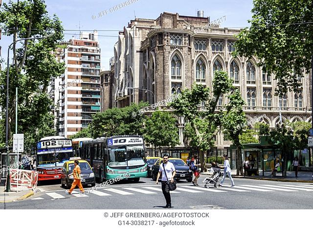 Argentina, Buenos Aires, Recoleta, Avenida Las Heras, University of Buenos Aires School of Engineering Facultad de Ingenieria de la Universidad de Buenos Aires