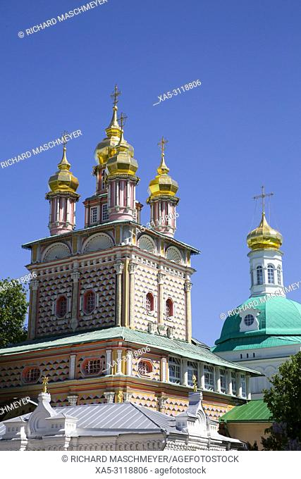 St John the Baptist Church, The Holy Trinity Saint Serguis Lavra, UNESCO World Heritage Site, Sergiev Posad, Golden Ring, Russia