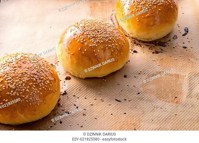 hamburger bread roll