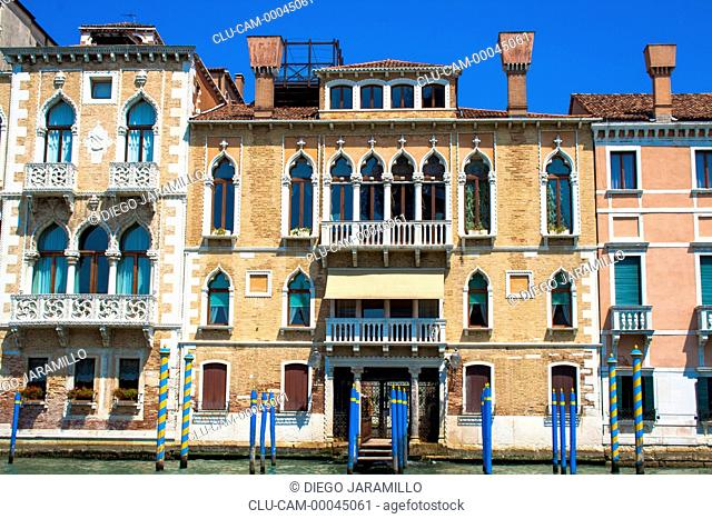 Traditional Architecture, Venice, Veneto, Italy, Western Europe