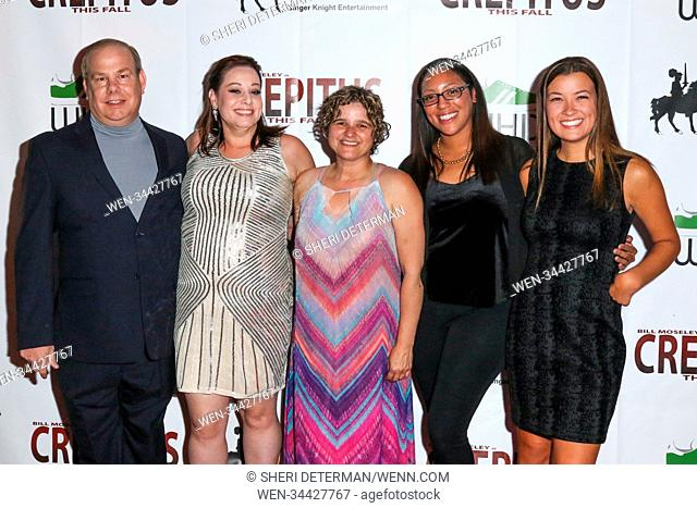 World Premiere of 'Crepitus' held at the Los Feliz Theater in Hollywood, California. Featuring: Fredick Stuhrberg, Monet Rumford, Nicole Enger, Nicole Taylor