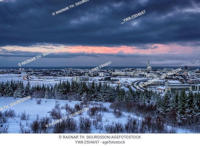 Wintertime, Reykjavik, Iceland