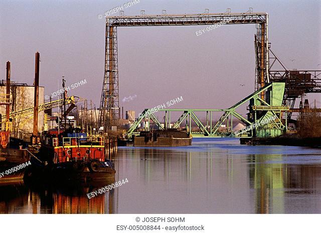 Industrial waterway