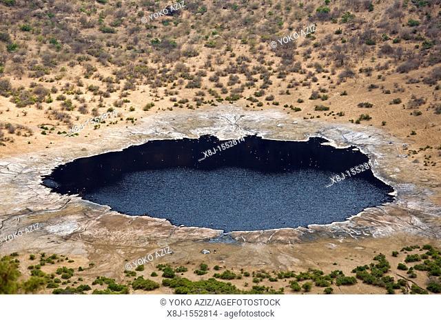 Landscape, El Sod crater, Ethiopia