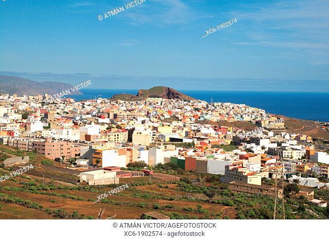 panoramic view of Santa Cruz de Tenerife. Canary Islands, Spain