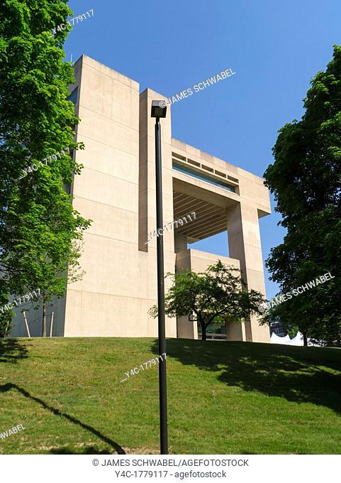 Johnson Museum of Art at Cornell University in Ithaca New York