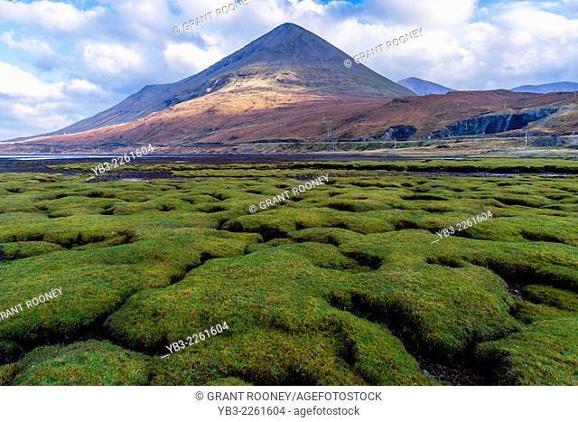Glamaig (Red Hills) from Sligachan, Isle of Skye, Scotland