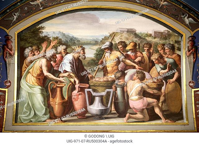 Hermitage Museum, The loggia of Raphael, Wedding at Cana
