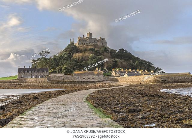 St Michael's Mount, Marazion, Cornwall, England, United Kingdom