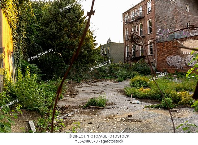 New York City, USA, Street Scenes, Brooklyn District, DUMBO Area,
