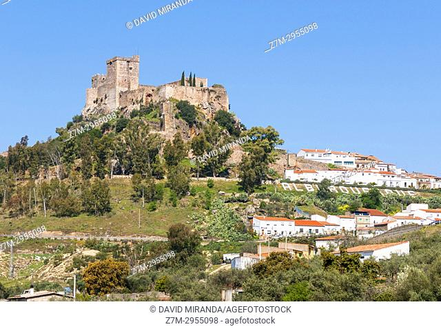 Castillo de Luna. Alburquerque. Badajoz. Extremadura. Spain