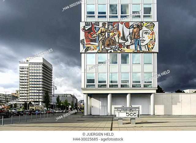 Haus des Lehrers. Architect Hermann Henselmann 1964, BCC, Congress Center, Berlin