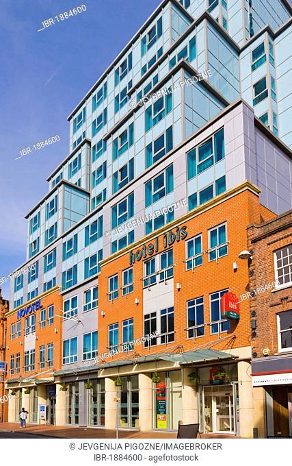 Hotel Ibis and Novotel, Friar Street, Reading, Berkshire, England, United Kingdom, Europe