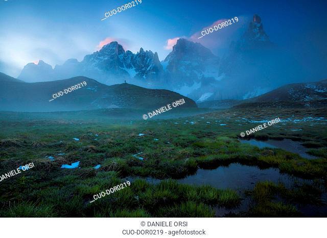 Pale di San Martino, Baita Segantini, Segantini, Dolomites, Trentino Alto Adige, Italy