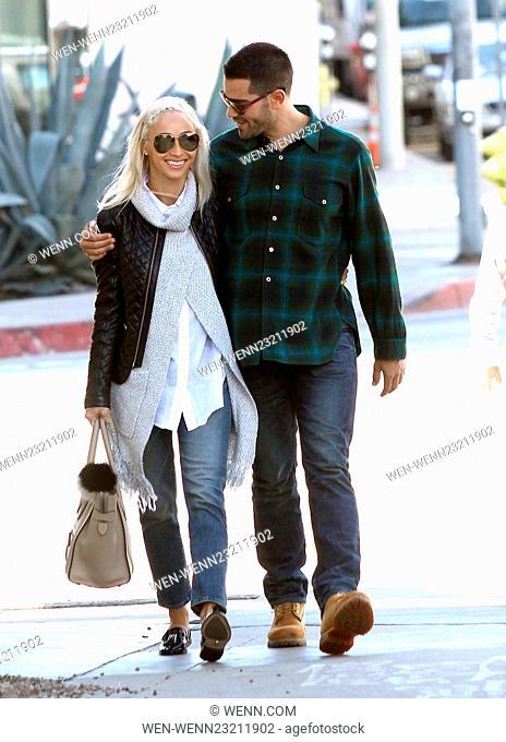 Cara Santana and Jesse Metcalfe out on a romantic shopping spree Featuring: Cara Santana, Jesse Metcalfe Where: Los Angeles