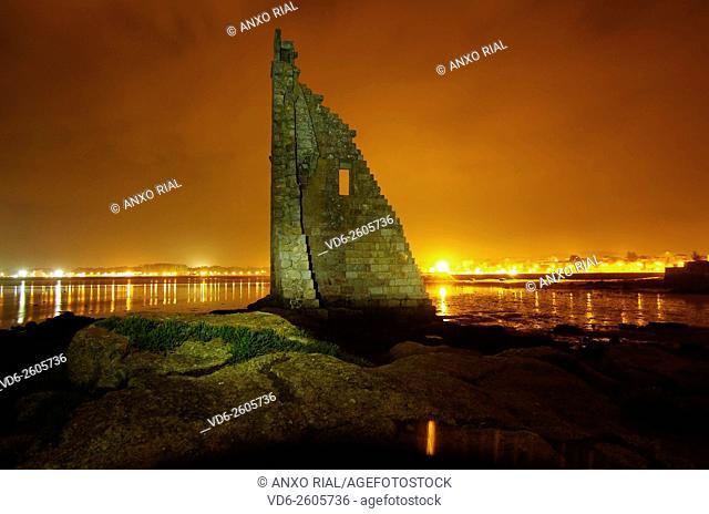 Spain. Galicia. Pontevedra. Cambados. San Sadurniño's tower. Rias Baixas
