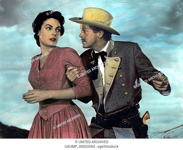 Umzingelt, (THE MARAUDERS) USA 1955, Regie: Gerald Mayer, JARMA LEWIS, DAN DURYEA