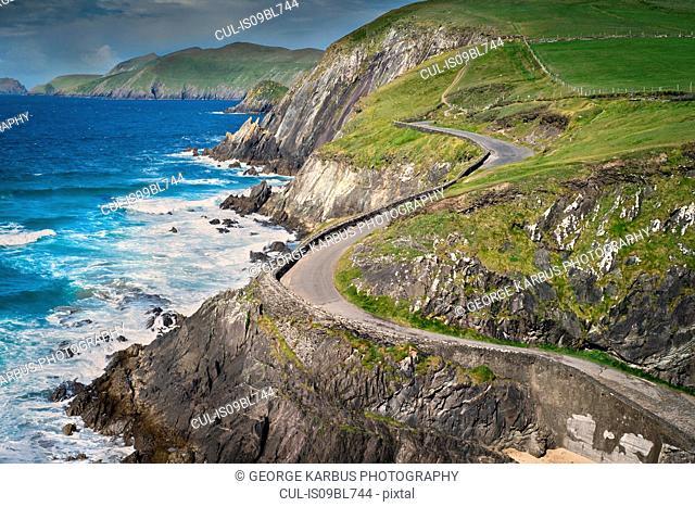 Coumeenole Beach, Slea Head Drive, Dingle, Kerry, Ireland