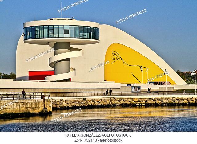 Oscar Niemeyer, Cultural Center, Avilés, Asturias, Spain